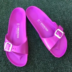 NWT Birkenstock Madrid Slide Sandal Pink 40
